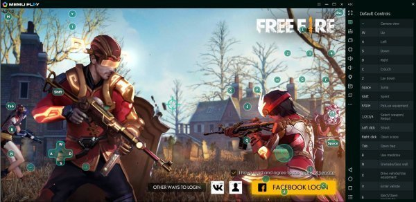 Huong Dan Cach Choi Free Fire Tren May Tinh Choi Game Ban Sung Dinh Nhat 6
