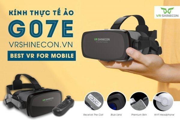 Kính thực tế ảo VR Shinecon G07E Blue Lens có tốt không?