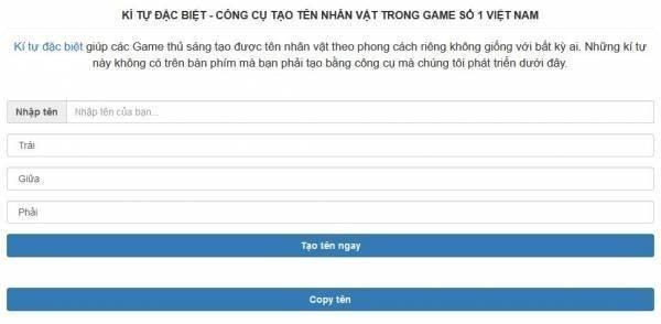 1001 Ki Tu Dac Biet An Tuong Khi Tao Ten Nhan Vat Trong Game 11